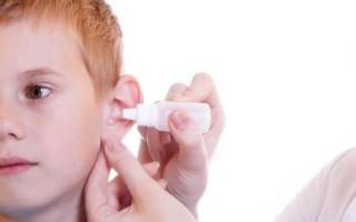 Капли от ушных пробок — виды, применение