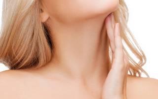 Болит шея в районе лимфоузлов