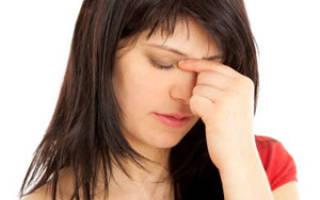 Лечение гайморита при беременности 3 триместр