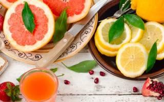 Фрукты с витамином с список