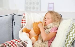 Сильный лающий кашель у ребенка без температуры