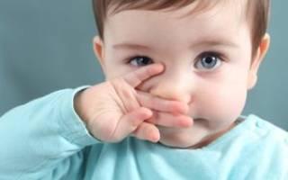 Ребенок хрюкает носом, но соплей нет
