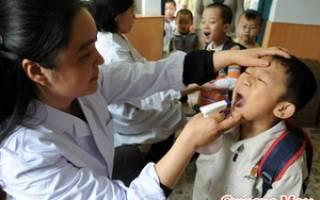 Герпангина фото горла у детей