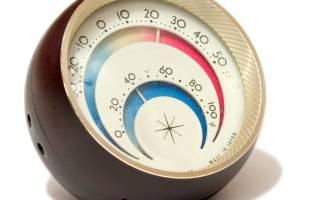 Как определить влажность воздуха без гигрометра