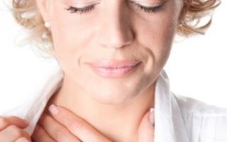 Ощущение жжения в пищеводе и горле