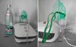 Ингаляции с Боржоми небулайзером: польза для детей при кашле