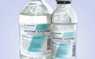 Ингаляции с хлористым кальцием