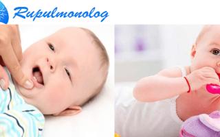 Кашель при прорезывании зубов у детей — когда кашель