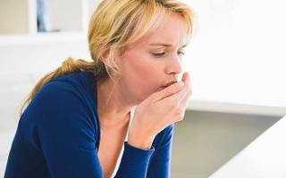 Сухой кашель во время беременности