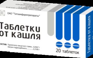 Таблетки от кашля пить или рассасывать