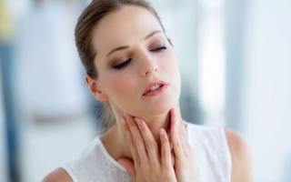 Действенное средство от боли в горле