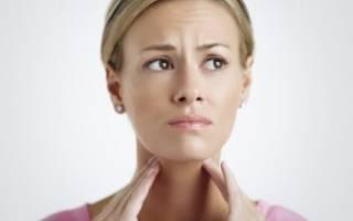 Внезапная боль в горле