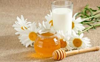 Кипяченое молоко с медом от кашля