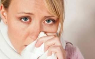От насморка болит голова: что делать?