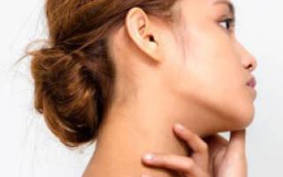 Болит лимфоузел на шее справа под челюстью: в чем причина