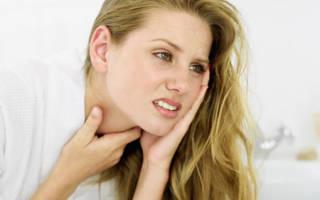 Боль при глотании с левой стороны горла — Простуда