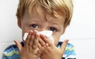 Как снять отек носоглотки у ребенка
