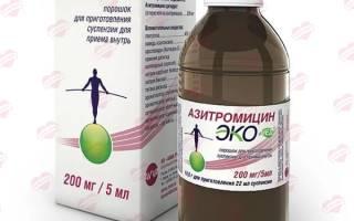 Азитромицин суспензия для детей 200мг 5мл
