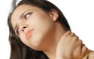 Болит шея спереди посередине