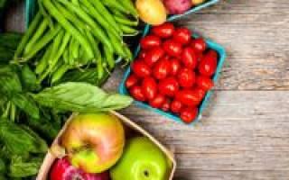 В каких овощах содержится витамин с