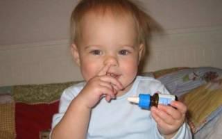 Капли в нос для новорожденных при заложенности