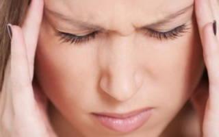 Заболевание внутреннего уха головокружение
