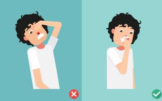Причины носового кровотечения у пожилого мужчины