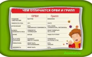 Орз орви и грипп в чем разница