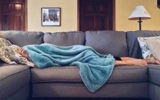 Температура после сна у взрослого