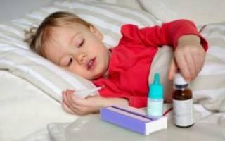 Что пить при ангине с температурой детям