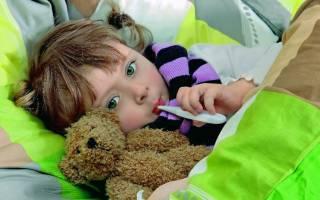 Как начинается воспаление легких у детей