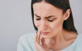 Заложен нос и болят зубы