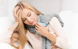 Чем лечить горло кормящей женщине