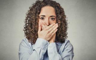 Першение в горле и осиплость голоса