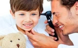 Красное ухо у ребенка внутри