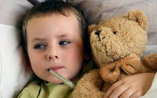 Как правильно сбить температуру у ребенка