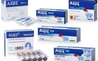АЦЦ: при каком кашле можно принимать препарат