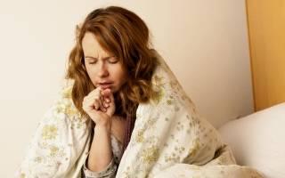 Вечером начинается сухой кашель у взрослого