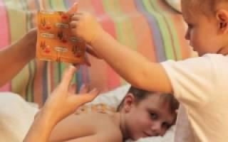 Горчичники детям при кашле с какого возраста