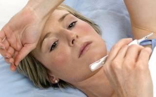Высокая температура при менструации