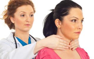 Какой врач лечит лимфоузлы на шее или под мышкой при воспалении