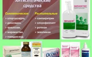 Состав хлоргексидина и мирамистина