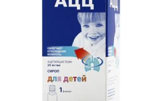 Аналог ацц от кашля для детей. Показания к применению