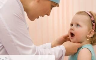 Чем полечить горло ребенку 2 года