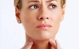 Причины появления шишки в горле