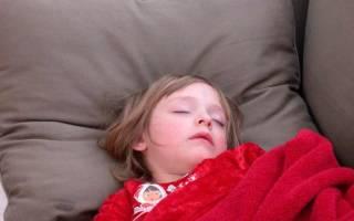 У ребенка сухой кашель ночью что делать
