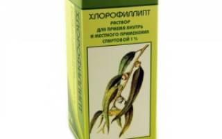 Хлорофиллипт спиртовый раствор аналоги и цены