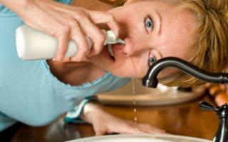 Сухость в носоглотке: причины и лечение