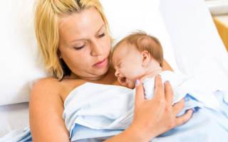 Орз у новорожденного