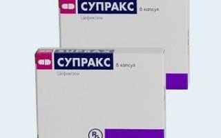Супракс инструкция по применению аналоги